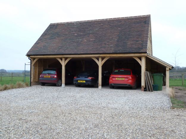 Andrew page oak for 3 bay garage